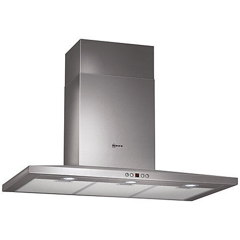 Buy Neff D69S45N0GB Chimney Cooker Hood, Stainless Steel Online at johnlewis.com