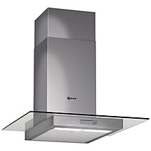 Buy Neff D86E21N1GB Chimney Cooker Hood, Stainless Steel Online at johnlewis.com