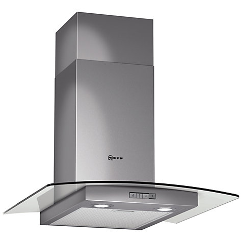 Buy Neff D86G21N0GB Chimney Cooker Hood, Stainless Steel Online at johnlewis.com