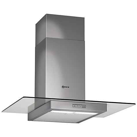 Buy Neff D87E21N1GB Chimney Cooker Hood, Stainless Steel Online at johnlewis.com