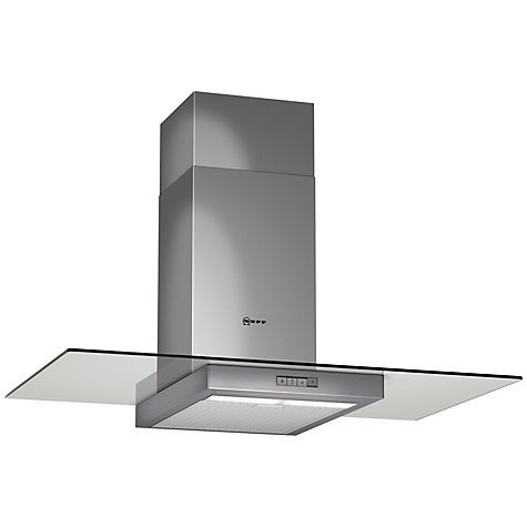 Buy Neff D89E21N1GB Chimney Cooker Hood, Stainless Steel Online at johnlewis.com