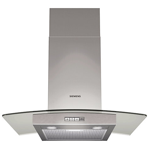 Buy Siemens LC64GA520B Chimney Cooker Hood, Stainless Steel Online at johnlewis.com