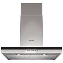 Buy Siemens LC66BB530B Chimney Cooker Hood, Stainless Steel Online at johnlewis.com