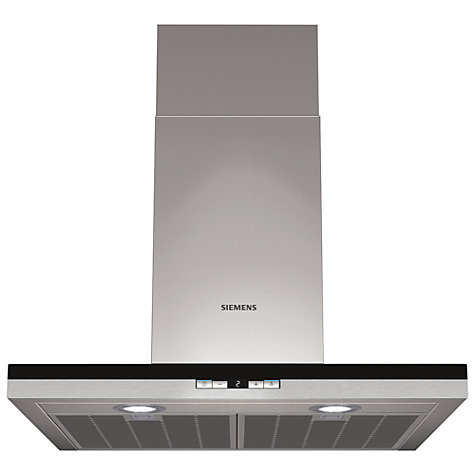 Buy Siemens LC68BD540B Chimney Cooker Hood, Stainless Steel Online at johnlewis.com