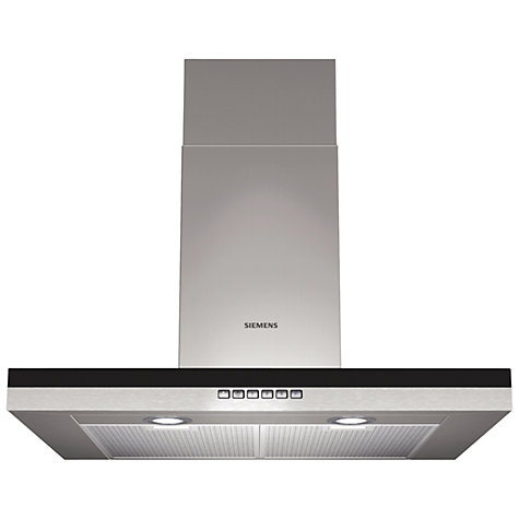 Buy Siemens LC76BB530B Chimney Cooker Hood, Stainless Steel Online at johnlewis.com