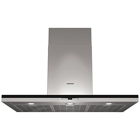 Buy Siemens LC98BD540B Chimney Cooker Hood, Stainless Steel Online at johnlewis.com
