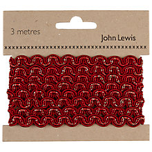 Buy John Lewis Ric Rac Trim, 3m Online at johnlewis.com