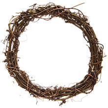 Buy John Lewis Round Clematis Wreath, 20cm Online at johnlewis.com