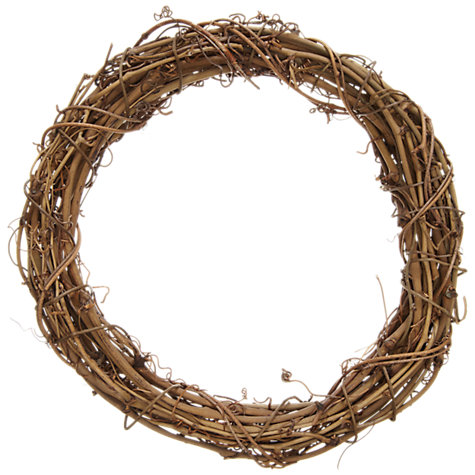 Buy John Lewis Round Clematis Wreath, 40cm Online at johnlewis.com