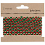 John Lewis Bobble Trim, 5m, Red/Green/Gold