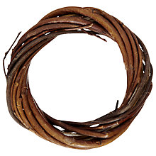 Buy John Lewis Mini Willow Wreath, 6cm Online at johnlewis.com