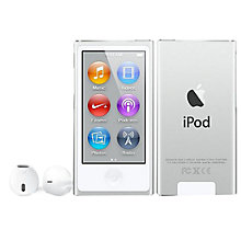 Buy Apple iPod nano,16GB, Silver Online at johnlewis.com