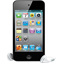 Buy Apple iPod touch 4th Generation, 16GB, Black Online at johnlewis.com