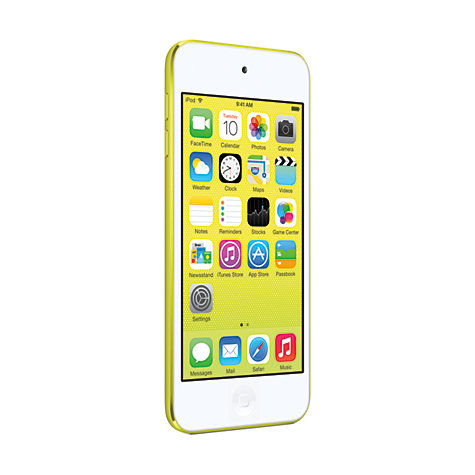 Buy Apple iPod touch 5th generation, 32GB, Yellow Online at johnlewis.com