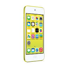 Buy Apple iPod touch 5th generation, 64GB, Yellow Online at johnlewis.com