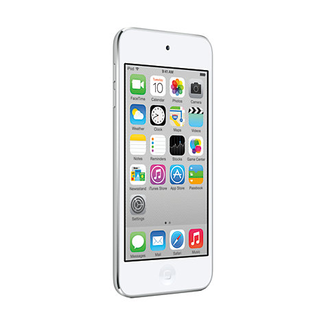 Buy Apple iPod touch 5th generation, 64GB, White & Silver Online at johnlewis.com