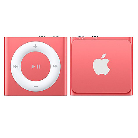 Buy Apple iPod shuffle, 2GB, Pink Online at johnlewis.com