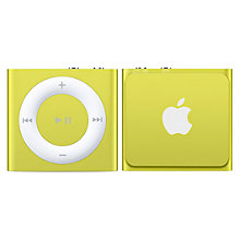 Buy Apple iPod shuffle, 2GB, Yellow Online at johnlewis.com