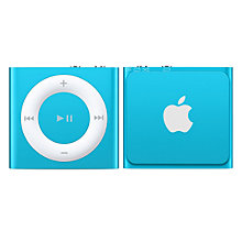 Buy Apple iPod shuffle, 2GB, Blue Online at johnlewis.com