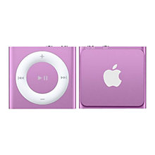 Buy Apple iPod shuffle, 2GB, Purple Online at johnlewis.com