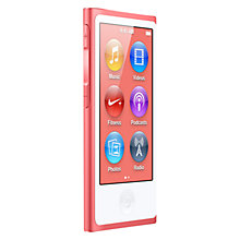 Buy Apple iPod nano,16GB, Pink Online at johnlewis.com