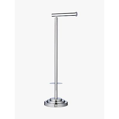 John Lewis Adjustable Toilet Butler, Silver