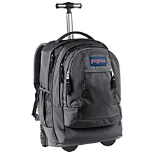 Buy JanSport Driver 8 Wheeled Backpack, Forge Grey Online at johnlewis.com