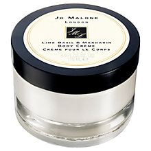 Buy Jo Malone™ Lime Basil & Mandarin Body Crème, 175ml Online at johnlewis.com