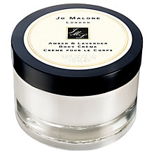 Buy Jo Malone™ Amber & Lavender Body Crème, 175ml Online at johnlewis.com