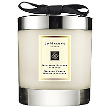 Buy Jo Malone London Nectarine Blossom & Honey Home Candle, 200g Online at johnlewis.com