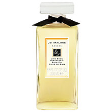 Buy Jo Malone™ Lime Basil & Mandarin Bath Oil, 200ml Online at johnlewis.com