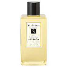 Buy Jo Malone™ Lime Basil & Mandarin Bath Oil, 250ml Online at johnlewis.com