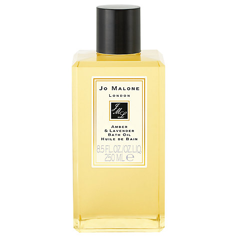 Buy Jo Malone™ Amber & Lavender Bath Oil, 250ml Online at johnlewis.com