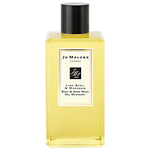 Buy Jo Malone™ Lime Basil & Mandarin Body & Hand Wash, 100ml Online at johnlewis.com