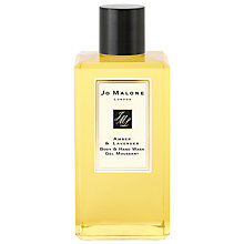 Buy Jo Malone™ Amber & Lavender Body & Hand Wash, 250ml Online at johnlewis.com