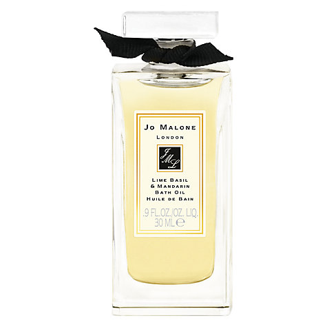 Buy Jo Malone™ Lime Basil & Mandarin Bath Oil, 30ml Online at johnlewis.com