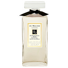 Buy Jo Malone™ Pomegranate Noir Bath Oil, 200ml Online at johnlewis.com