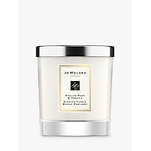 Buy Jo Malone London English Pear & Freesia Home Candle, 200g Online at johnlewis.com