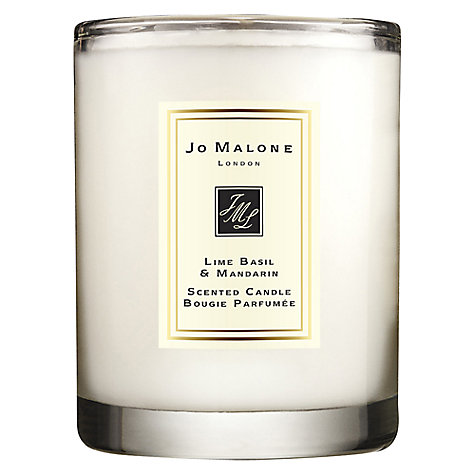 Buy Jo Malone™ Lime Basil & Mandarin Travel Candle, 60g Online at johnlewis.com