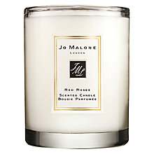 Buy Jo Malone London Red Roses Travel Candle, 60g Online at johnlewis.com