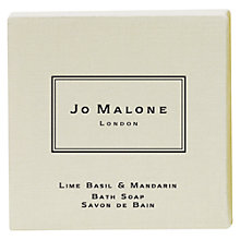 Buy Jo Malone™ Lime Basil & Manadarin Bath Soap, 100g Online at johnlewis.com