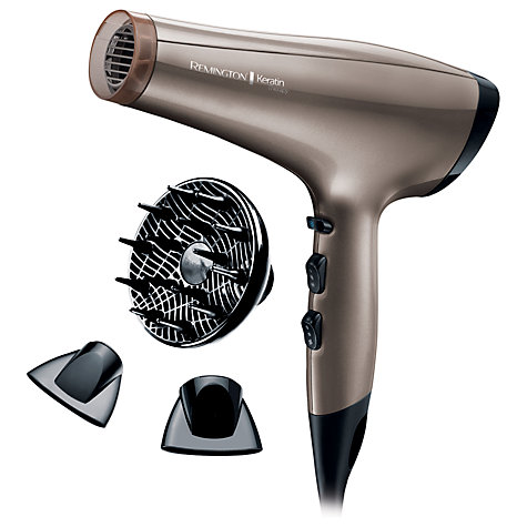 Buy Remington AC8000 Keratin Therapy Pro Hair Dryer Online at johnlewis.com