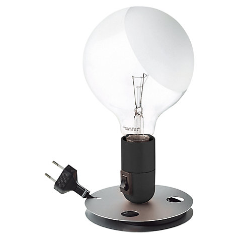 Buy Flos Lampadina Table Lamp, Black Online at johnlewis.com