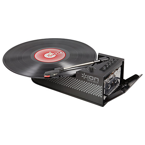 Buy ION Duo Deck LP/Tape Conversion Turntable Online at johnlewis.com