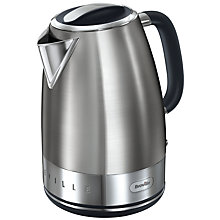 Buy Breville Elements Kettle and 4-Slice Toaster, Brushed Stainless Steel Online at johnlewis.com