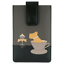 Buy Radley Teatime iPhone Case, Black Online at johnlewis.com