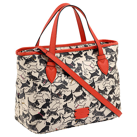 Buy Radley Thames Medium Multi Zip Handbag, Ivory Online at johnlewis.com