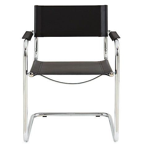 Buy John Lewis Delta Leather Dining Chair Online at johnlewis.com