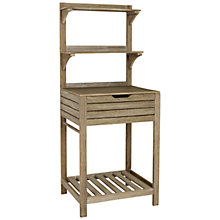 Buy John Lewis Bilbao Potting Bench, Whitewash Online at johnlewis.com