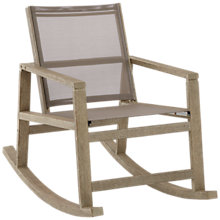 Buy John Lewis Bilbao Rocking Chair, Whitewash Online at johnlewis.com